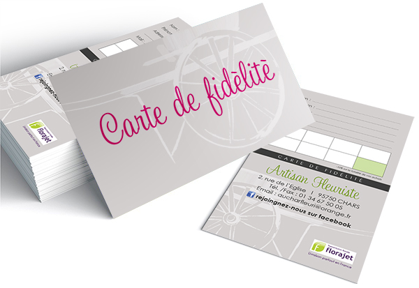 Carte de fidelite Au cahrs Fleuri V3