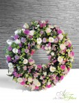 COURONNE rose et parme - 230€