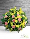 COUSSIN Jaune rose - 100€