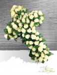 CROIX Roses blanches - 200€